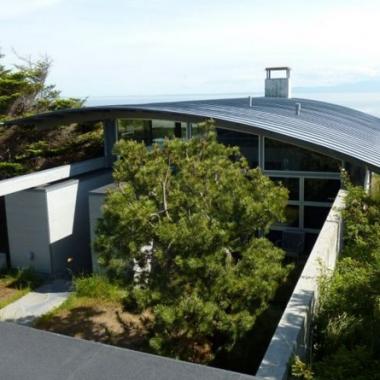 Innovative Construction San Juan Island House