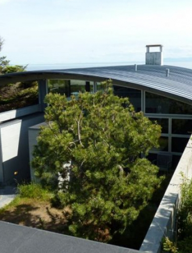 Innovative Construction San Juan Island House