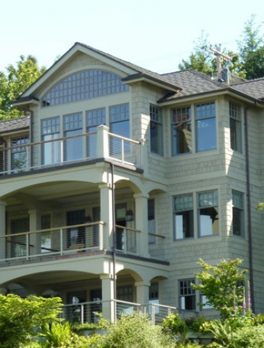 multi story home building san juan island