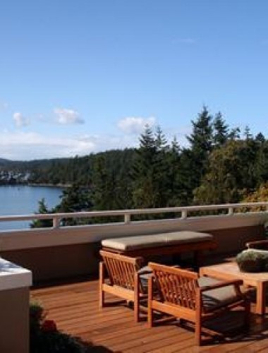 san juan island view home construction