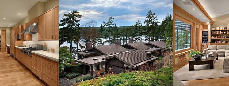 building vacation homes san juan island