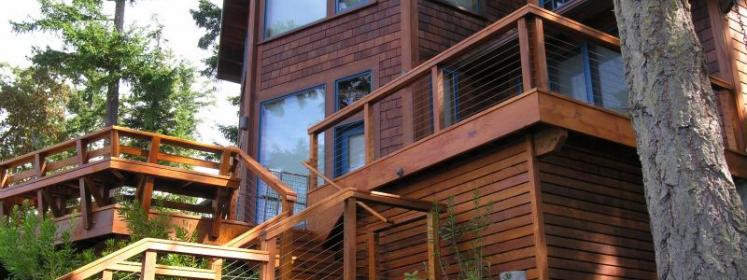 timber frame construction san juan island